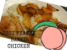 Just Peachy Chicken..3 Ingredients..Amazing!