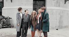 FB&WTFT cast w/JK Rowling!