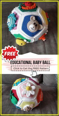 Quick Crochet, Crochet For Boys, Knitting For Kids, Baby Knitting, Free Crochet, Crochet Lovey Free Pattern, Crochet Edging Patterns, Crochet Amigurumi Free Patterns, Crochet Ball