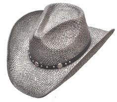 e357713b67a Women s Cowboy Hat Cowgirl Ranch Rodeo Womens Western Wear Clothing Silver  Straw  CowboyWestern Western Hats