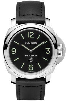 Panerai [NEW] PAM01000 Luminor Base Logo Acciaio (Retail:HK$37,000) ~ Special…