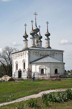 Suzdal church, Russia.