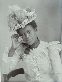 Young, Black and Victorian: Wonderful photographs of Victorian women of color | Dangerous Minds.  Wow, these photos are AMAZING!  Just gorgeous.