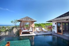Villa Bali Samuan is a distinguished sophisticated 2, 3 or 5 -bedroom combination villa located in Seminyak Oberoi district. Description from paradizo.com. I searched for this on bing.com/images