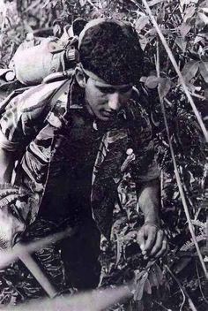 Tiger Force soldier. 101st Airborne Division. ~ Vietnam War