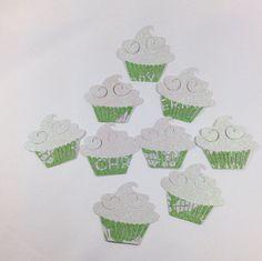 Die Cut Baker's Dozen Cupcakes by DistinctClippings on Etsy, $7.65