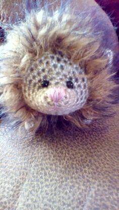 OOAK HANDMADE TEDDY/ guinea pig by lisa