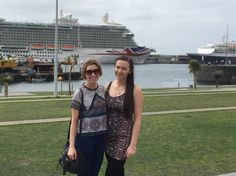 Me & Kell by the ship in Madiera
