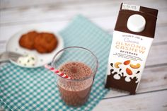 Our 15 favorite healthy Trader Joe's products to help make healthy eating easier: Cocoa Cashew Almond Beverage | Cool Mom Eats