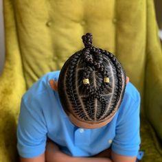 2 Braids Men, Braids For Boys, Braids For Black Hair, Male Braids, Black Boy Hairstyles, Cornrow Hairstyles For Men, Baby Girl Hairstyles, Cornrow Styles For Men, Kid Braid Styles