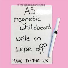 Magnetic-Whiteboard-A5-Dry-Wipe-Flexible-Memo-Notice-Fridge-Planner