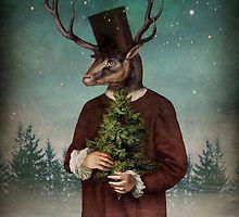 Mr Reindeer by Catrin Welz-Stein