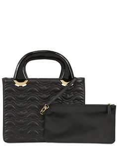 PATRICIA ALKARY - CAROL QUILTED LEATHER BAG - LUISAVIAROMA - LUXURY SHOPPING WORLDWIDE SHIPPING - FLORENCE