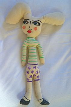 my homemade doll 'eliza'