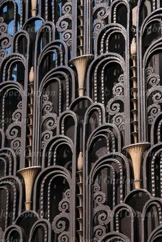 Art Deco detail on The Madison Belmont building at 181 Madison Avenue, New York City. Phott by Joel Gordon Photography.