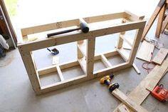 pedestal frame for washer & dryer