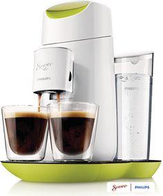 SENSEO® Twist HD7870 koffiepadmachine. Verrukkelijke koffie met één druk op de knop. Gemaakt voor SENSEO® koffiepads.