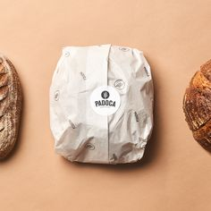 Brand identity and logo design for Padoca Bakery in Istanbul Baking Packaging, Bread Packaging, Cookie Packaging, Food Packaging Design, Bakery Branding, Bakery Logo Design, Bakery Menu, Logo Branding, Burger Packaging