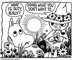 Let me introduce you to the moomin & Manga Moomin Cartoon, Baby Blues Comic, Moomin Valley, Tove Jansson, Art Tutorials, Troll, How To Introduce Yourself, Illustration Art, Anime