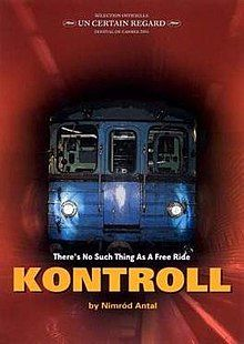 Kontroll (a comedy-thriller, Hungarian with English subtitles, set in the Budapest subway system. Film Movie, Hd Movies, Movies To Watch, Movies Online, Movies And Tv Shows, Breaking Bad Movie, Female Cop, Underwater City, Hallways