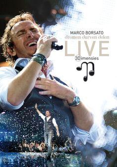 Marco Borsato - Dromen Durven Delen: 3Dimensies Live (3D Blu-Ray+2Cd) 3Dimensies Live is de registratie van de concerten die in mei 2011 in GelreDome plaatsvonden. De concertweergave verschijnt in 3D. Dit is een primeur voor Marco Borsato, als eerste Nederlandse artiest.