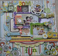 bom bom fun - Scrapbook.com this page just says FUN