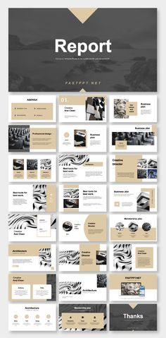 2 in 1 Minimal & Professional PowerPoint Template Easy customizable contents. No Photoshop or other tools needed! Easy to use! Design Powerpoint Templates, Template Brochure, Template Web, Professional Powerpoint Templates, Design Brochure, Ppt Design, Design Poster, Keynote Template, Booklet Design Layout