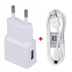 Power Adapter Mobile Phone EU Travel Charger 2.1A+USB Data Cable For Nokia Microsoft Lumia 640 XL,Lumia 640,Lumia 435,Lumia 525