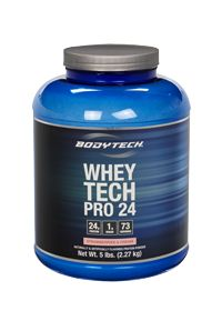 the Vitamin Shoppe Whey Tech Pro 24 Strawberries & Cream, 5.0 Pound , Powder #myvitabox