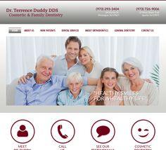 #sesamewebdesign #sds #avalon #dental #responsive #red #gray #white #sans #serif