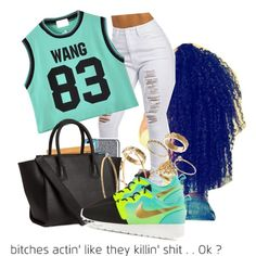 """""""NO love✋"""" by trilli-baby on Polyvore"""