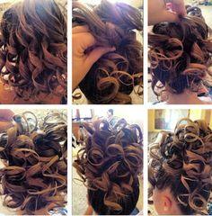 Apostolic hairdos on Pinterest | Pentecostal Hairstyles, Updo and ...