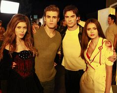 Tvd behind the scenes.