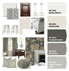 Choosing exterior elevation colours can become an - Sherwin williams thunder gray exterior ...