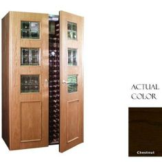Vinotemp Vino-700empireb-cn Empire 440 Bottle Wine Cellar With Beveled Glass Design - Glass Doors / Chestnut Cabinet by Vinotemp. $7479.00. Vinotemp VINO-700EMPIREB-CN Empire 440 Bottle Wine Cellar With Beveled Glass Design - Glass Doors / Chestnut Cabinet. VINO-700EMPIREB-CN. Wine Cellars. Vinotemp Wine Cellars are all-in-one wine storage solutions hand-crafted with domestic woods in Southern California. They maintain an ideal environment for both short-term ...