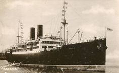 Ascania (1)--the ship that my mother's father traveled on in 1912