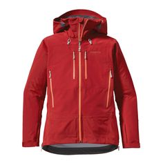Patagonia Women's Triolet Jacket - The Triolet is built with bomber 3-layer nylon waterproof/breathable GORE-TEX® fabric for total weather protection when you're climbing or skiing in the backcountry.