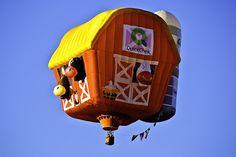 Barn Hot Air Balloon, Readington, NJ