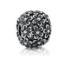 Grand Charm Pandora Argent-Fleurs-€51.99