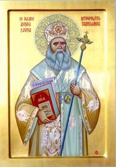 SFANTUL ANDREI SAGUNA Life Of Jesus Christ, Jesus Lives, Faith Of Our Fathers, Best Icons, Byzantine Art, Sf, My Works, Catholic, Religion