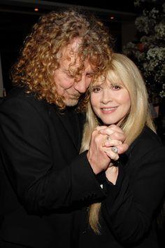 Robert Plant, Stevie Nicks, 2007