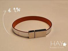 Subtiele armband | Wit