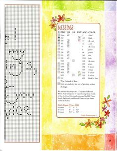 0 point de croix femme méditant - cross stitch girl count my blessing i count you twice 3