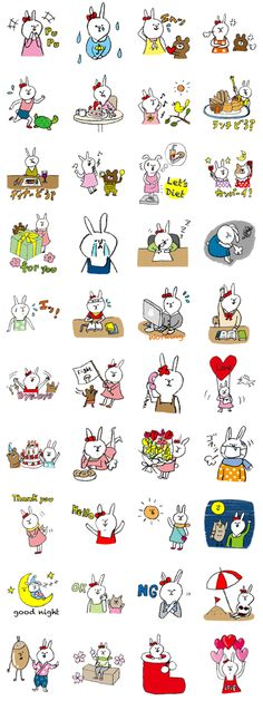 Daily life of Hanako. – LINE stickers Stamp Drawing, Line Store, Line Sticker, Emoji, The Creator, Illustration Art, Snoopy, Stickers, Children
