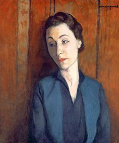 Albert Marquet - The Woman in Blue