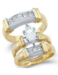 Amazon.com: Wedding Ring Sets - via http://bit.ly/epinner