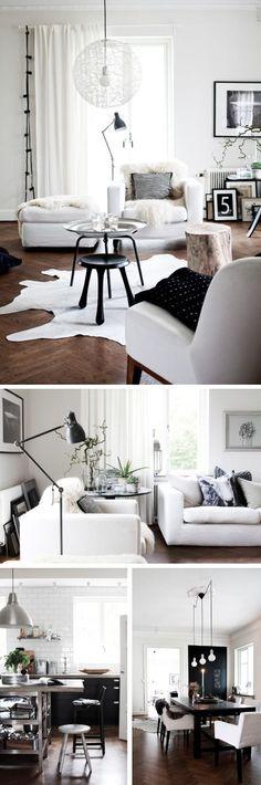 Being Brazen: Black & white home