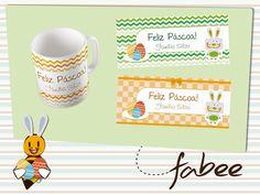 Produtos personalizados de páscoa produzidos pela FabeeStore! Encomende: www.fabeestore.com.br