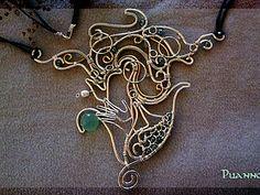 Создаем колье «Нереида» из посеребренной проволоки - Ярмарка Мастеров - ручная работа, handmade