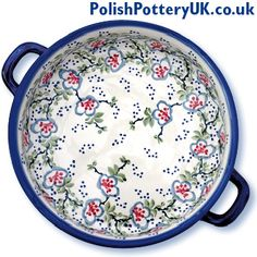 Four Seasons Polish Pottery ~ Polish Pottery Round-Dishes